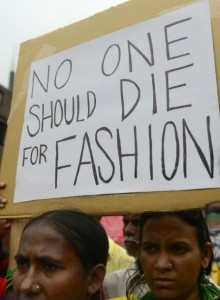 no one should die for fashion cover ret