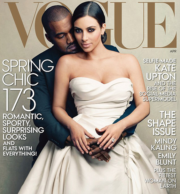 Kim and Kanye Vogue 2