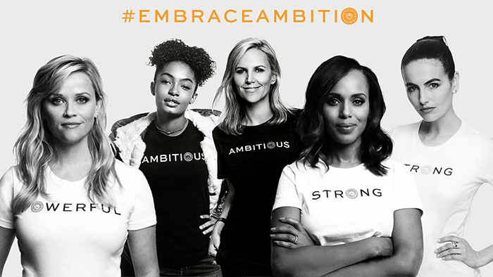 Campaña #EmbraceAmbition