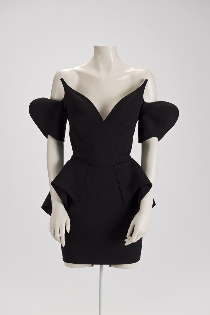 """Little Black Dress"" de Thierry Mugler, 1981"