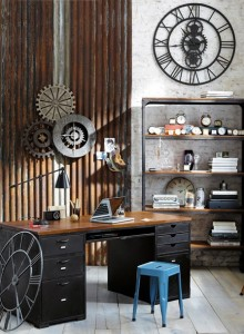 ideas-decorar-oficina-despacho-casa-vintage-retro-13