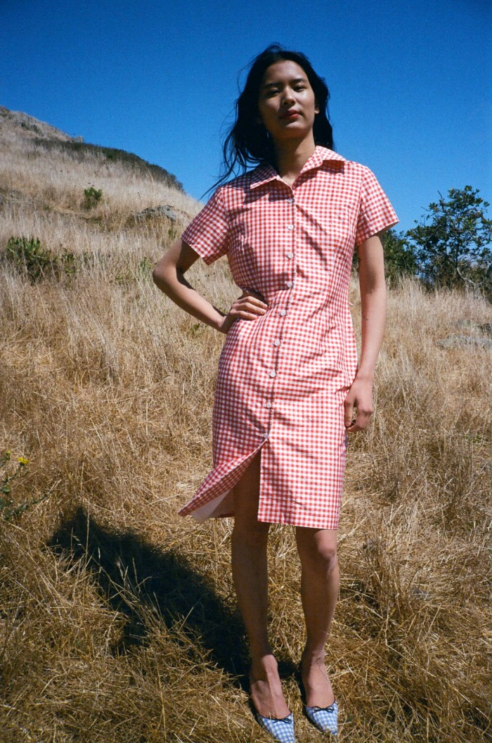 lisa-saysg-gah-vintage-silk-gingham-dress