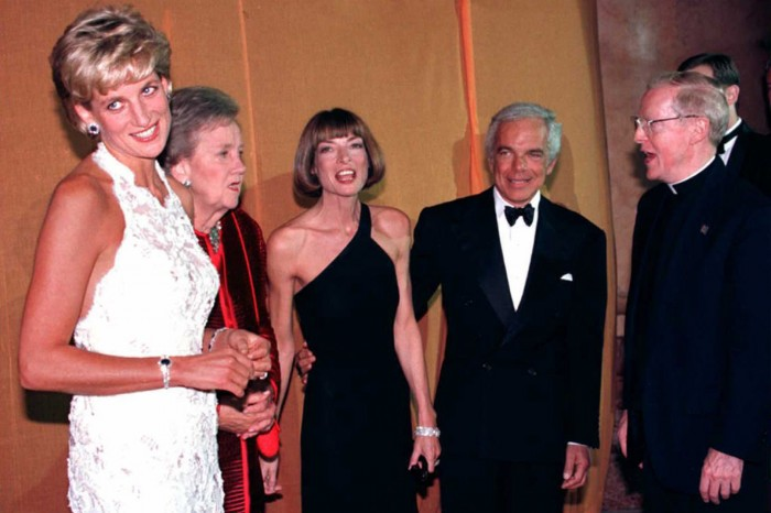 Princess Diana of Wales (L), Washington Post owner