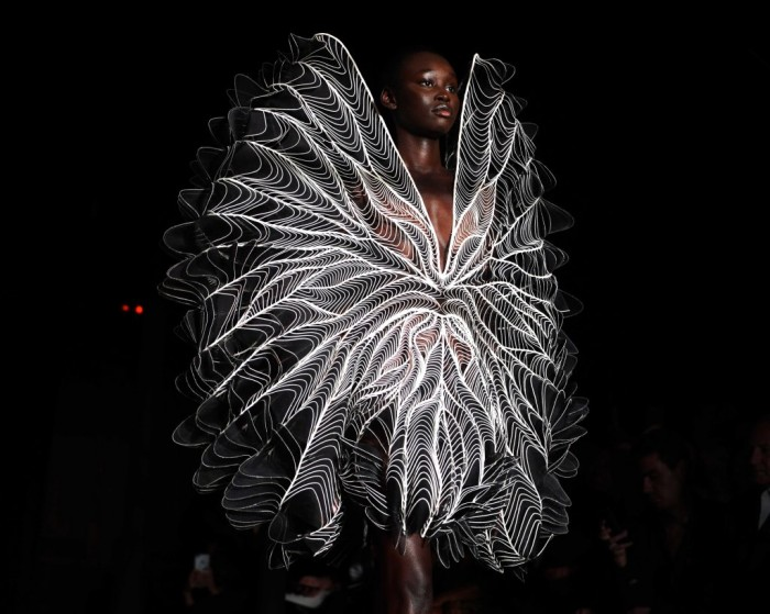 Iris van Herpen show, Runway, Fall Winter 2018, Haute Couture Fashion Week, Paris, France - 02 Jul 2018