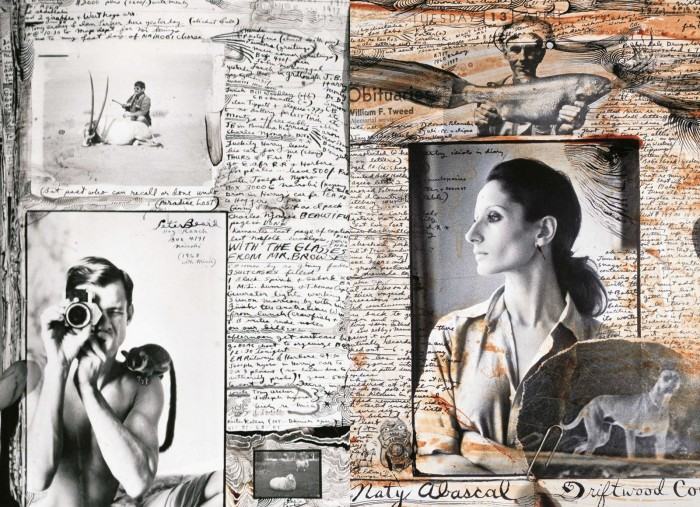 03_Collage Naty Abascal @PETER BEARD